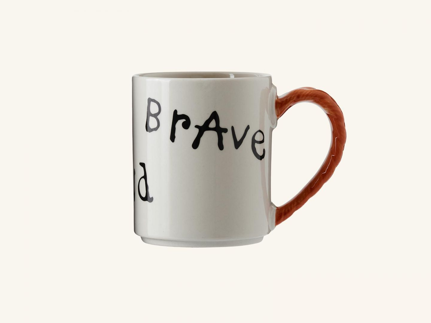 Pippi Anniversary mug-Strong, Kind, Brave 35 cl