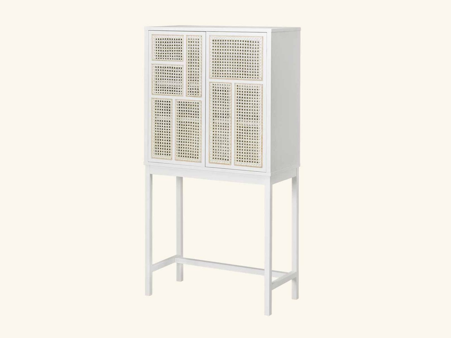 Air cabinet Stained White Grey