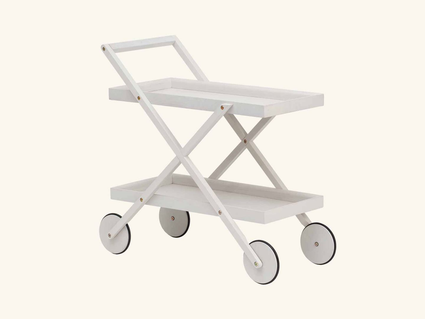 Exit trolley White grey