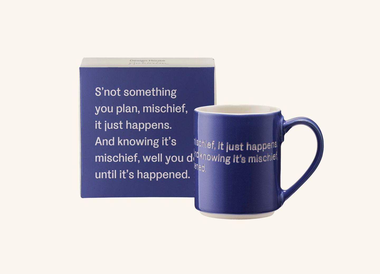 AL Mug 5, Blue Lavender (EN) S'not something you plan