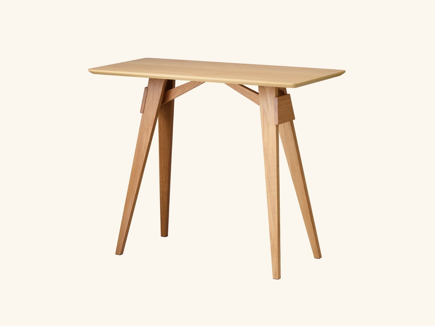Arco side table Oak