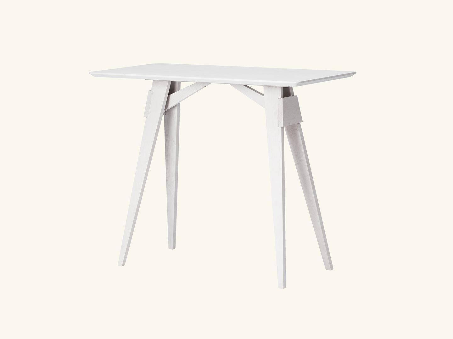 Arco side table White Grey