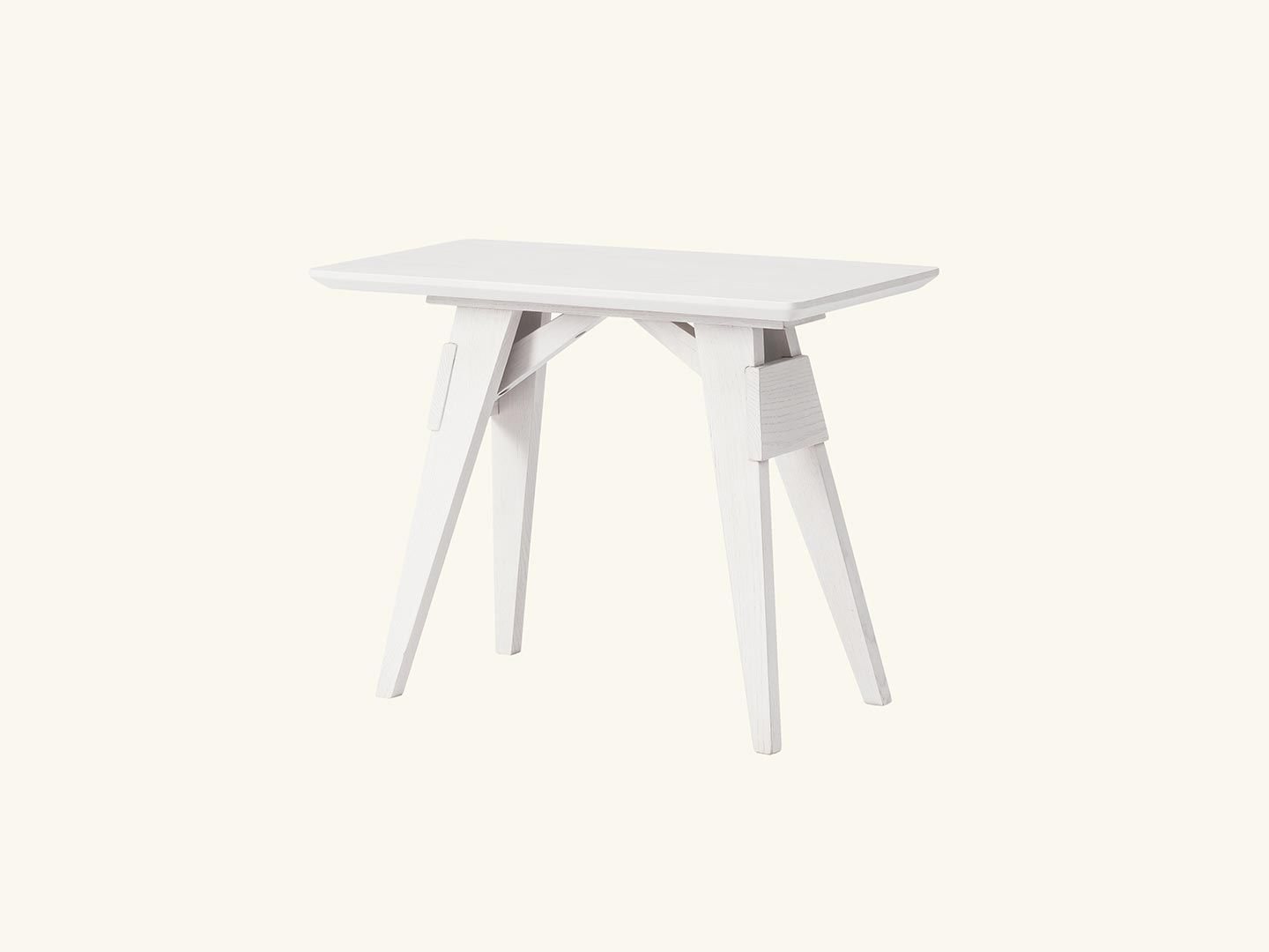 Arco small table White Grey