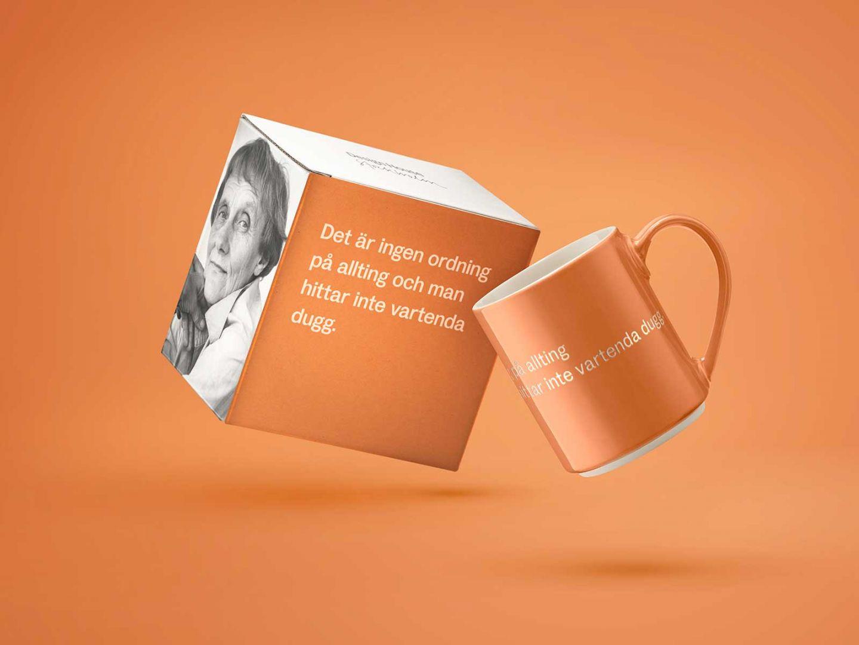 AL Mug 16, Orange (SV) Det är ingen ordning...