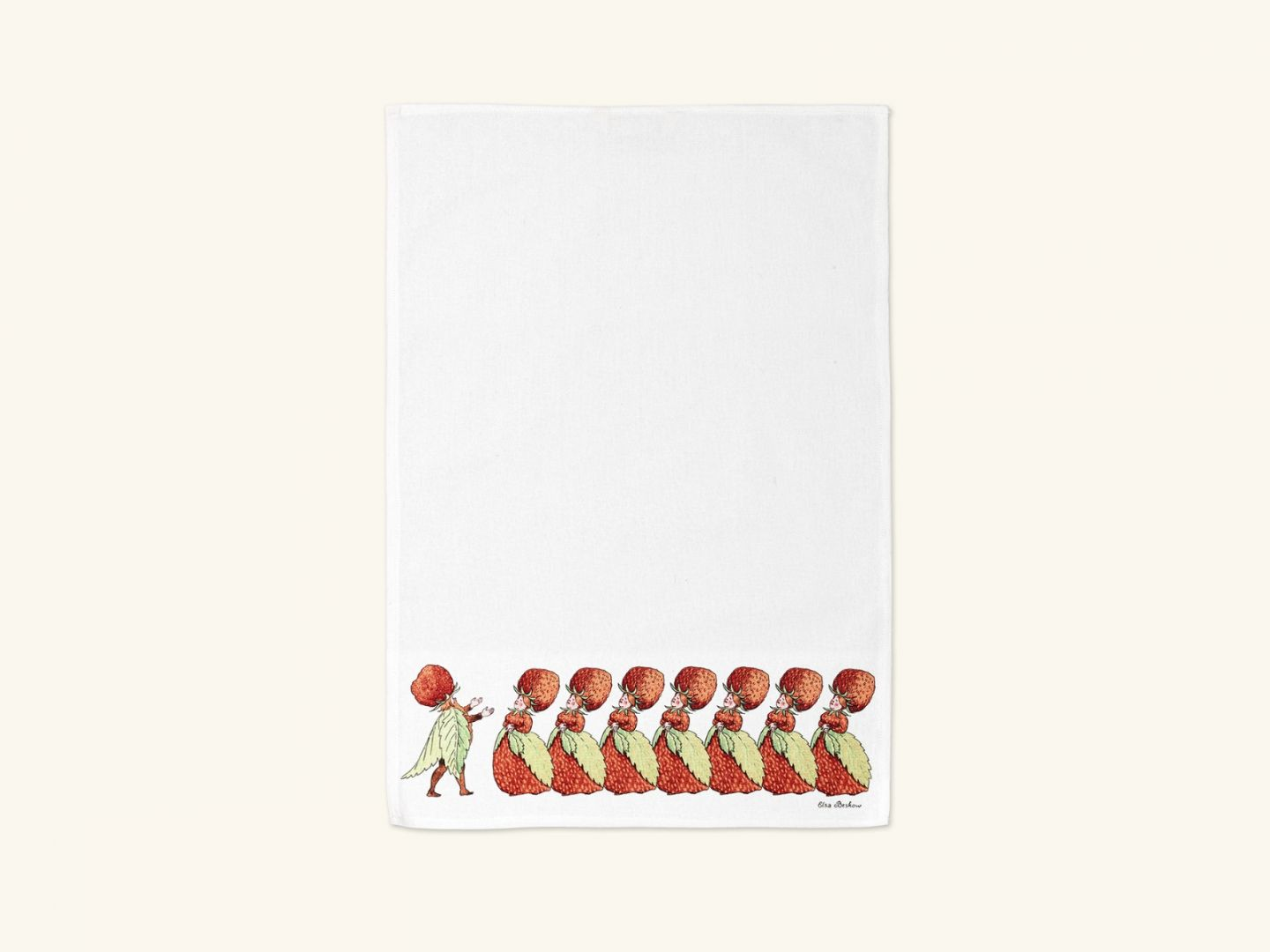 Kitchen towel, The Strawberry family