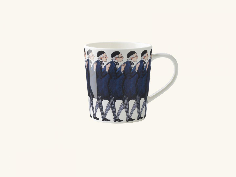 Mug w handle, Uncle Blue