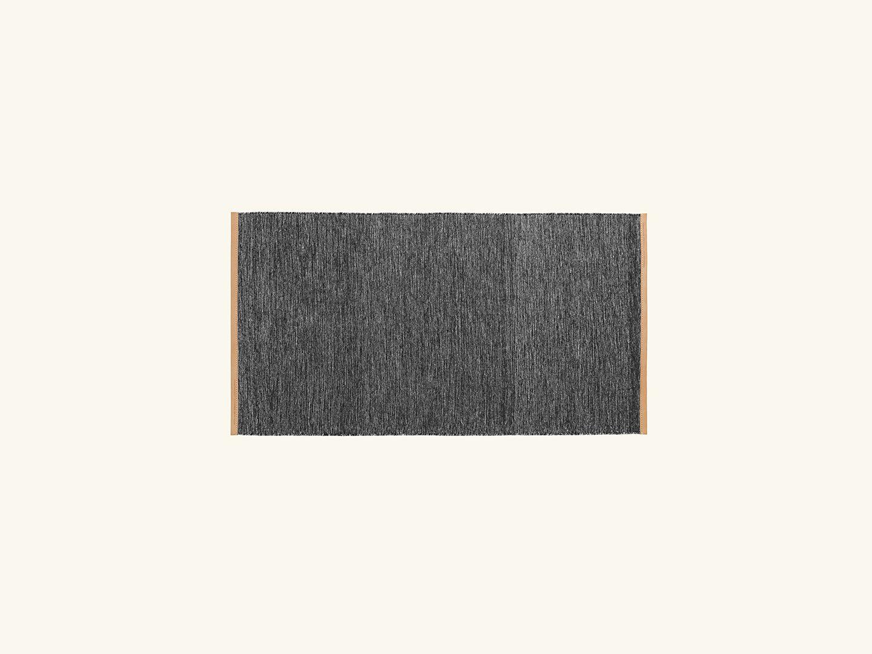 Björk rug Dark grey 70x130cm