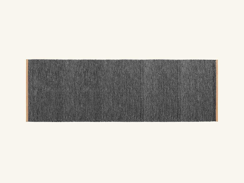 Björk rug Dark grey 80x250cm