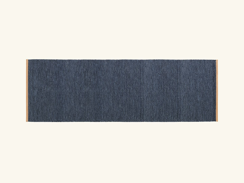 Björk rug Blue 80x250cm