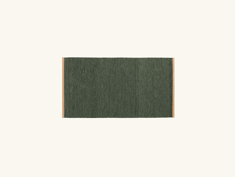 Björk rug Green 70x130cm