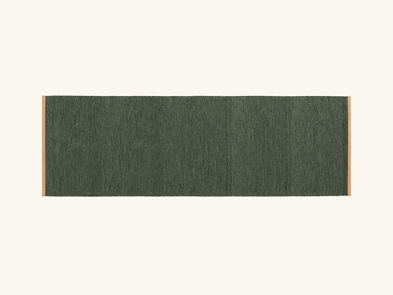Björk rug Green 80x250cm