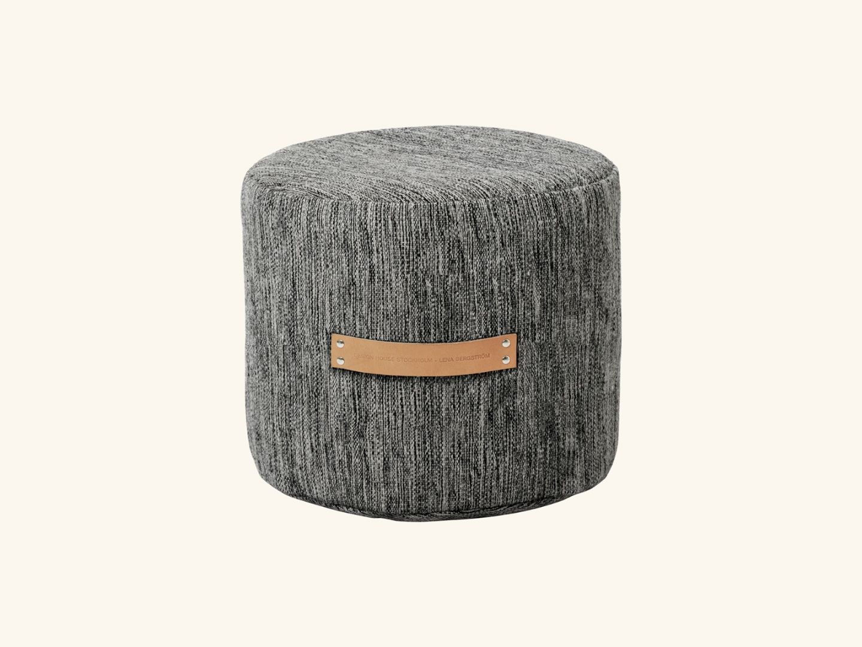Björk stool low Dark grey