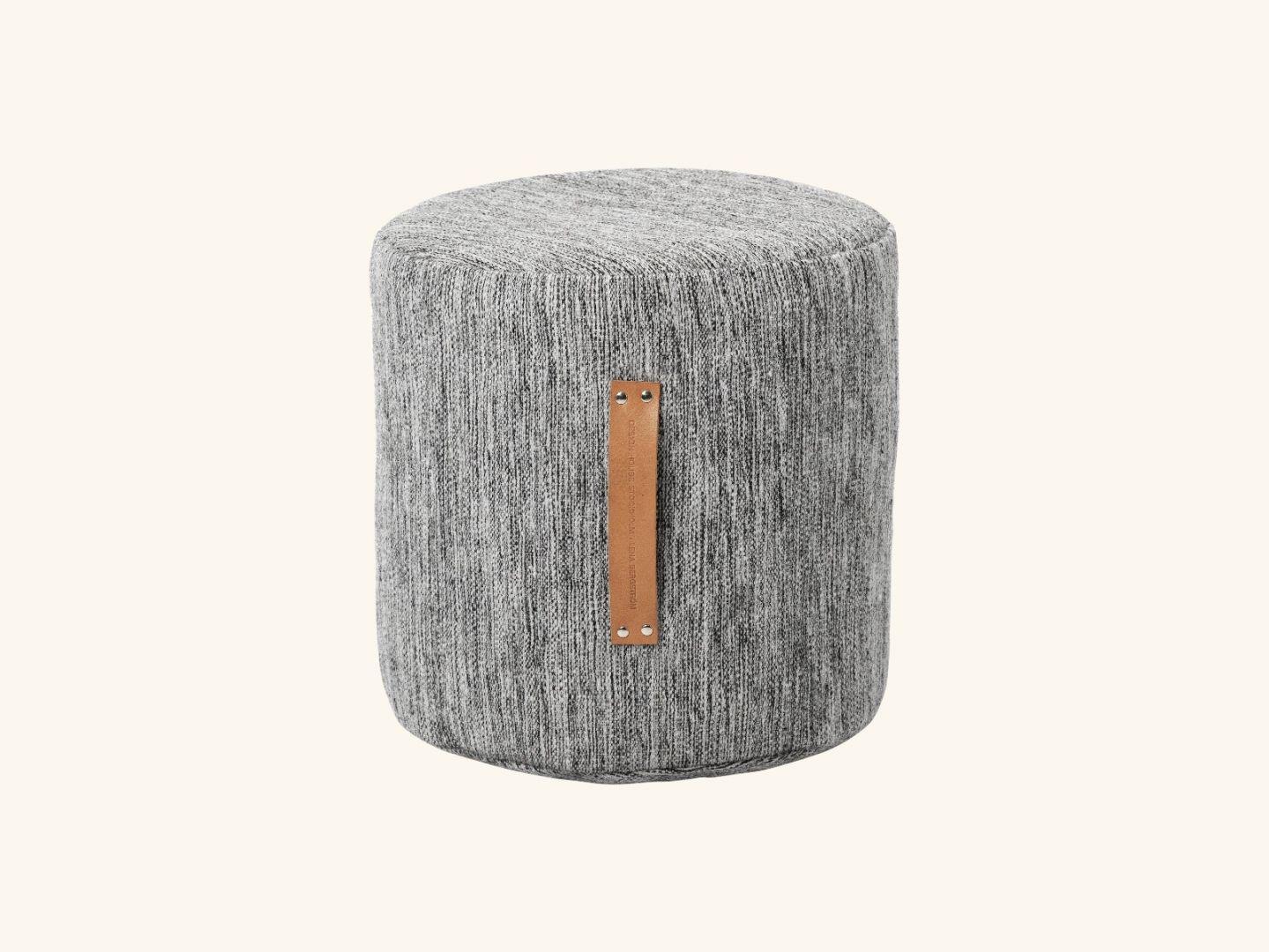 Björk stool high Light grey