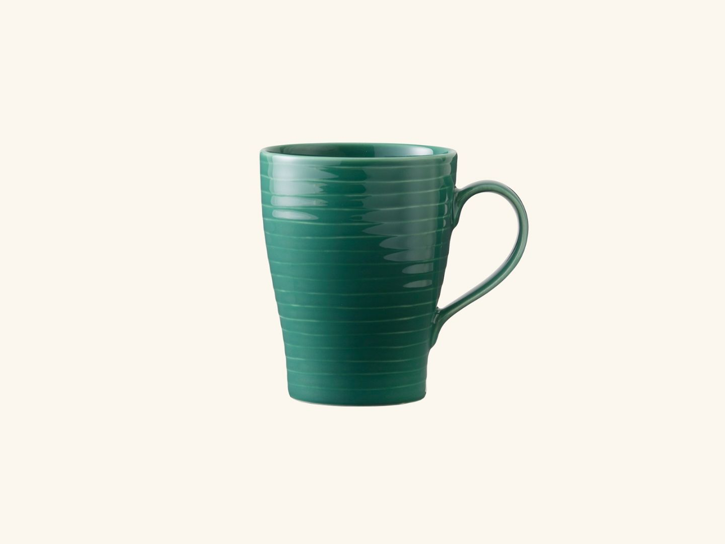 Blond Mug Green stripe
