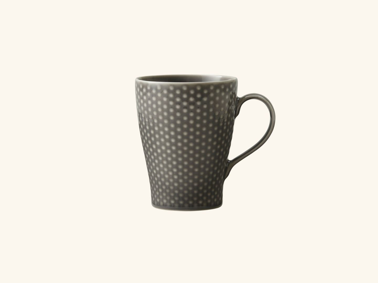 Blond Mug Grey dot