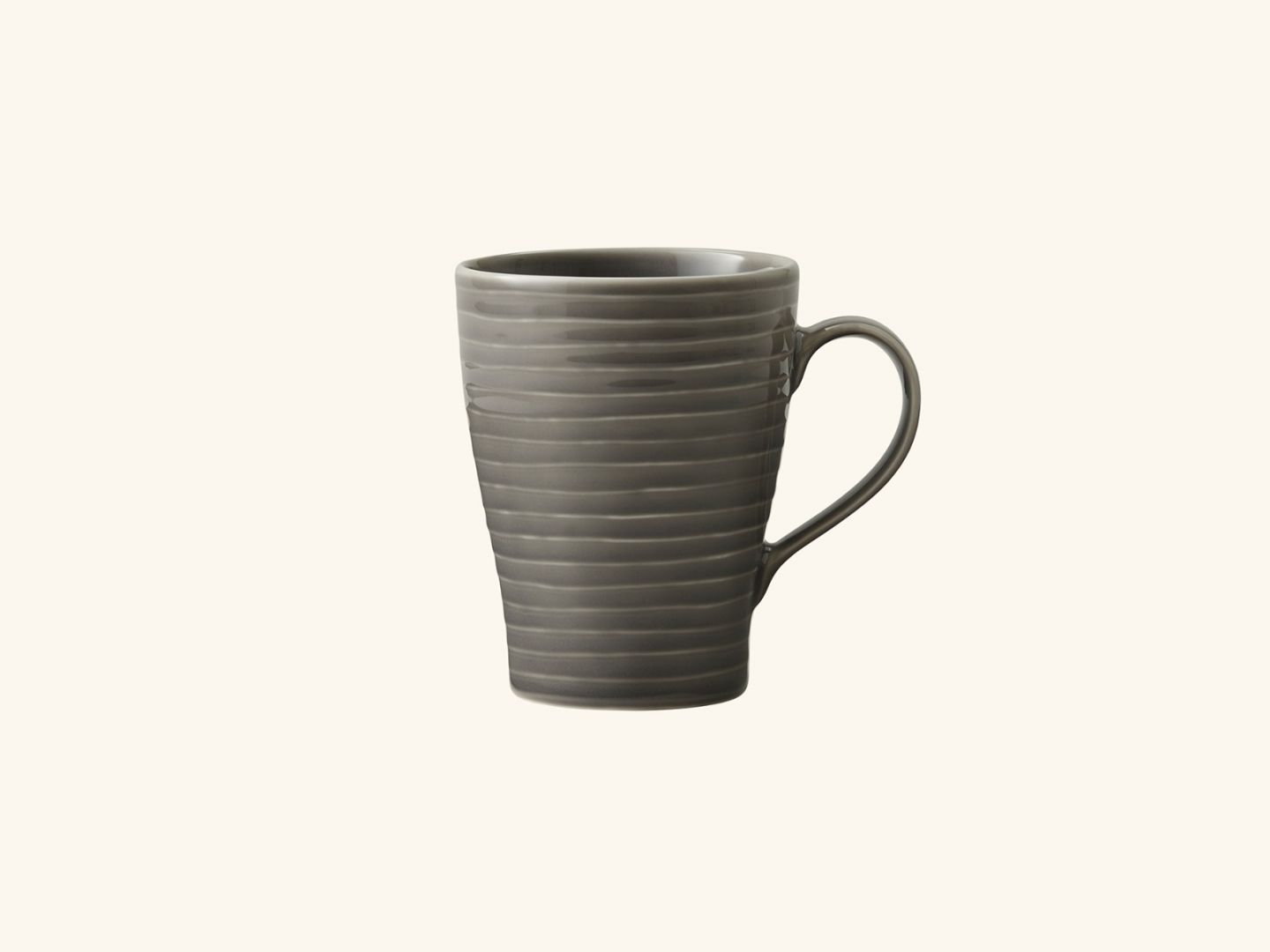 Blond Mug Grey stripe