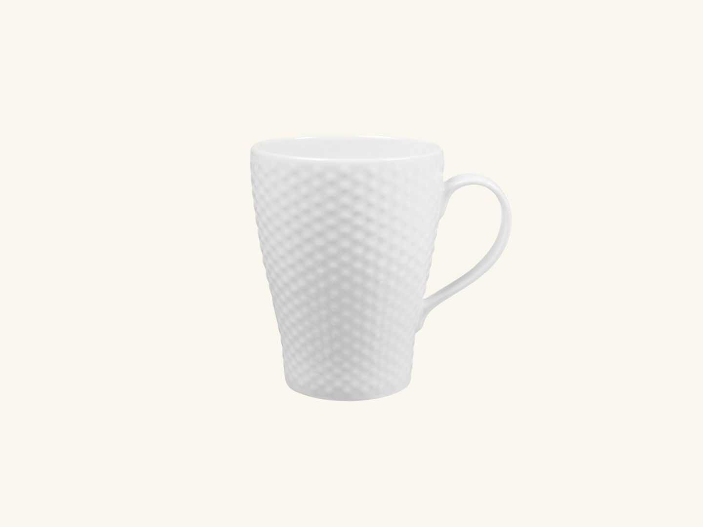 Blond Mug White dot