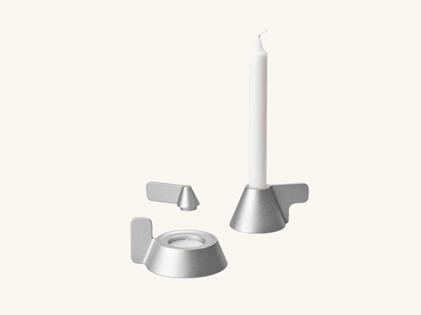 Cone candleholder