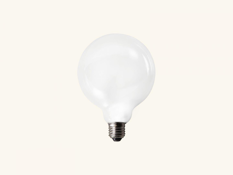 Opaque led bulb 125mm