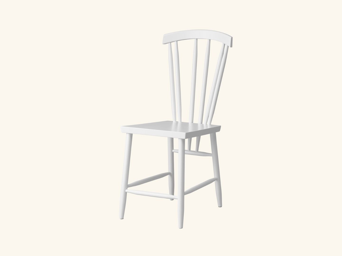 Family chair No.3 White