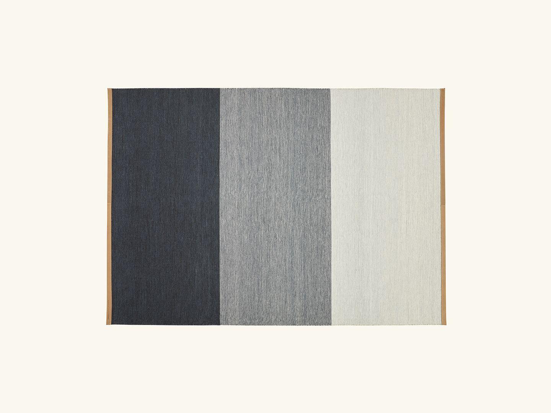 Fields rug Blue/Grey 170x240cm