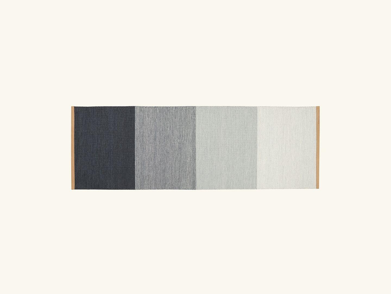 Fields rug Blue/Grey 80x250