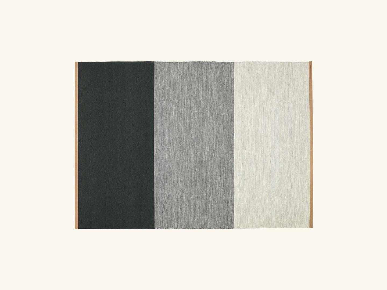Fields rug Green/grey 170x240cm