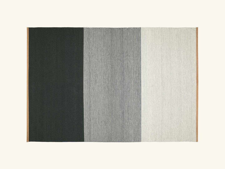 Fields rug Green/grey 200x300cm