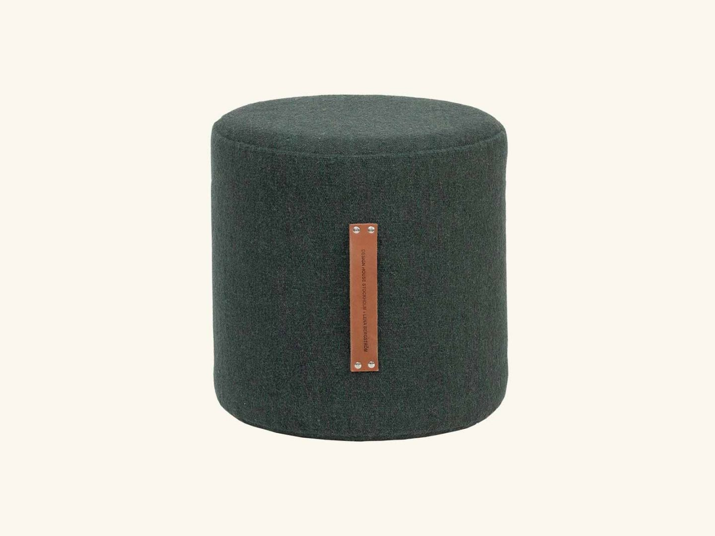 Fields Pouffe Green