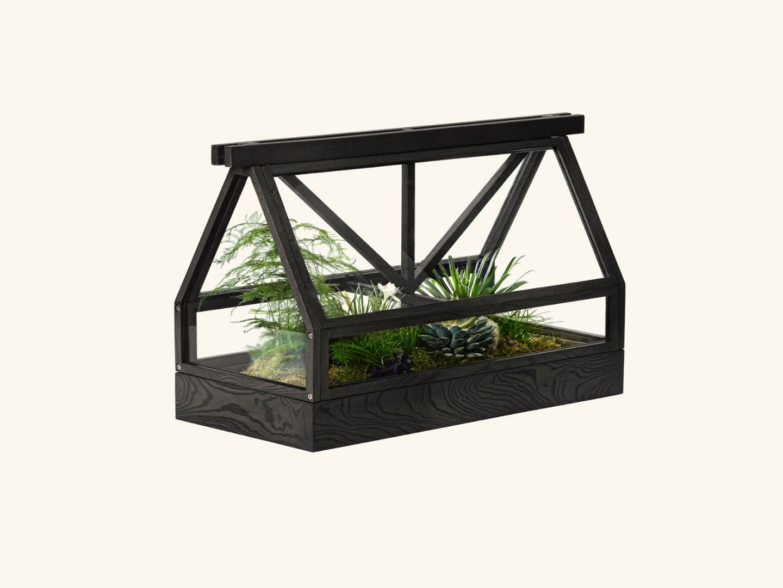 Greenhouse top part Dark grey