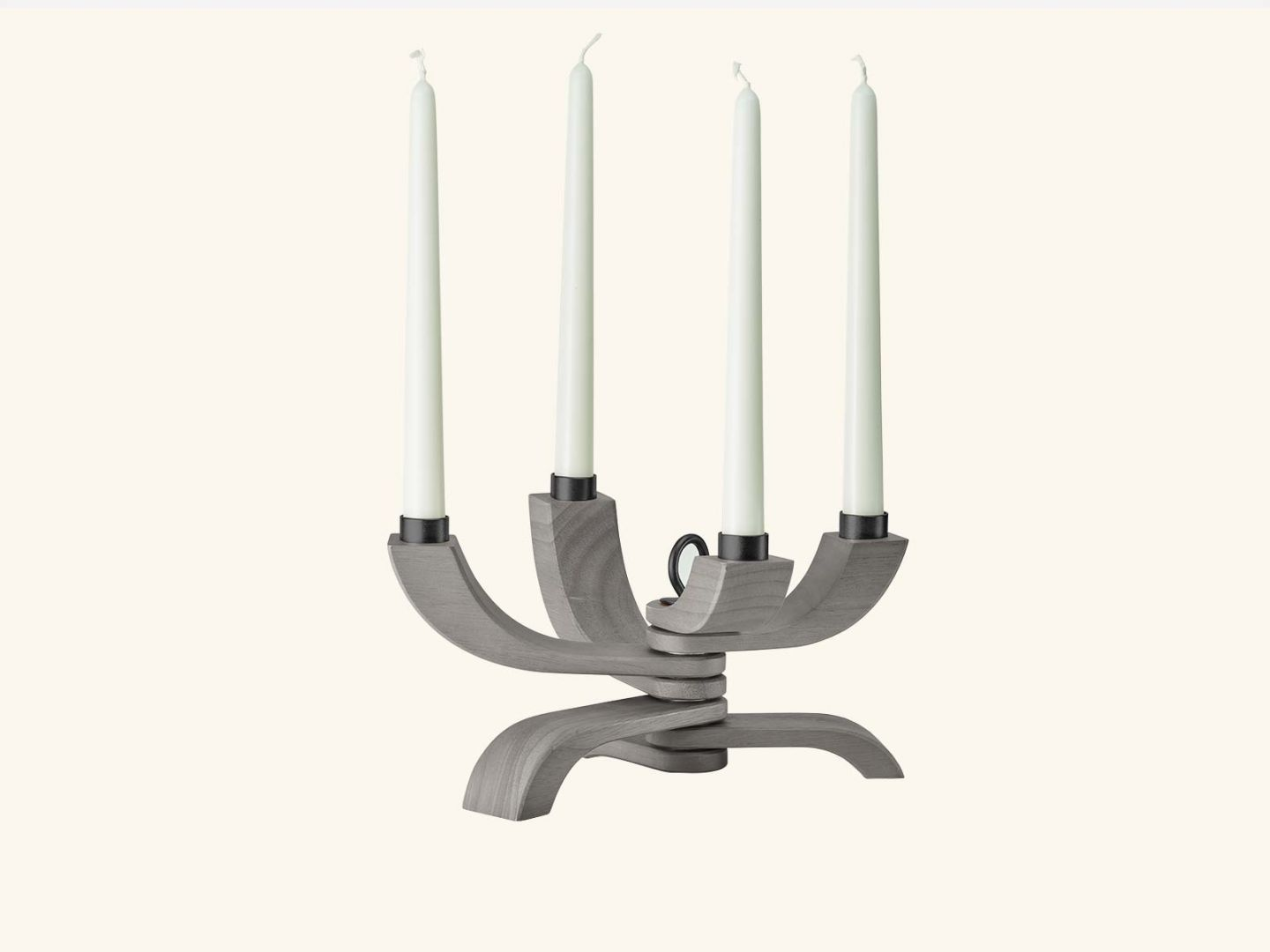Nordic Light 4-arms Stained Grey