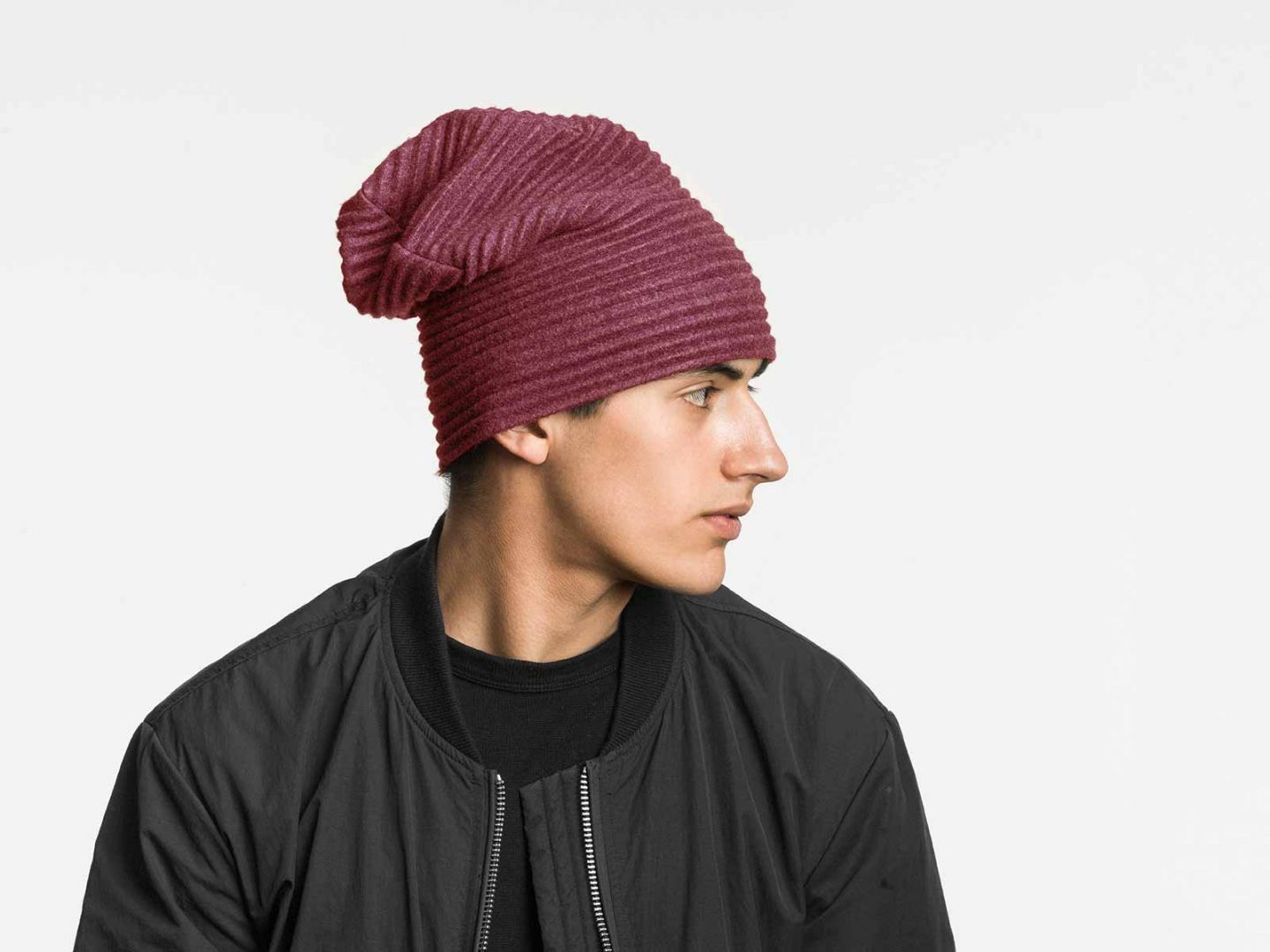 Pleece Beanie hat Bordeaux