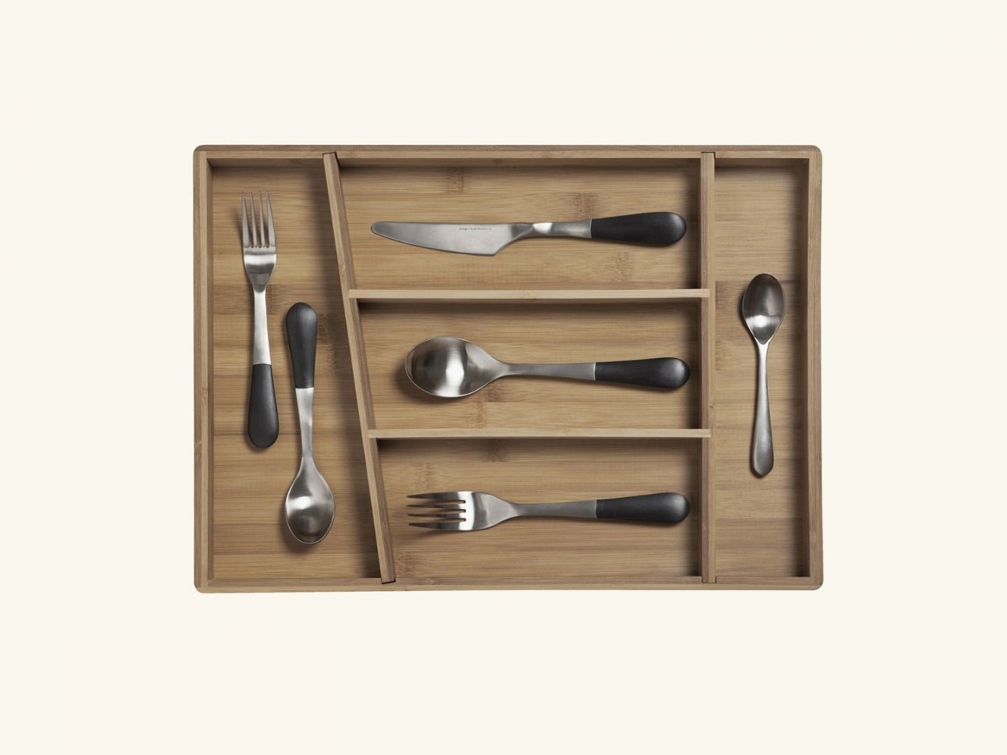 Stockholm cutlery tray Bamboo