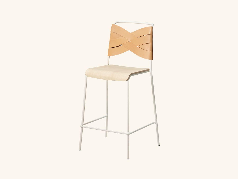 Torso bar stool ash/natural