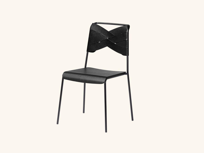 Torso chair Black/black