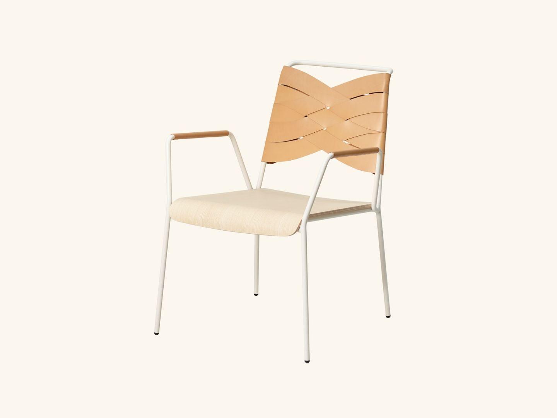 Torso lounge chair ash/natural