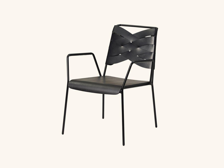 Torso lounge chair Black/black