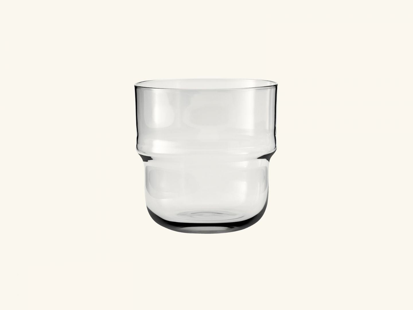 NM& Unda glass Clear (set of 2)