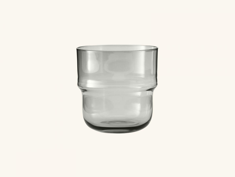 NM& Unda glass Grey (set of 2)