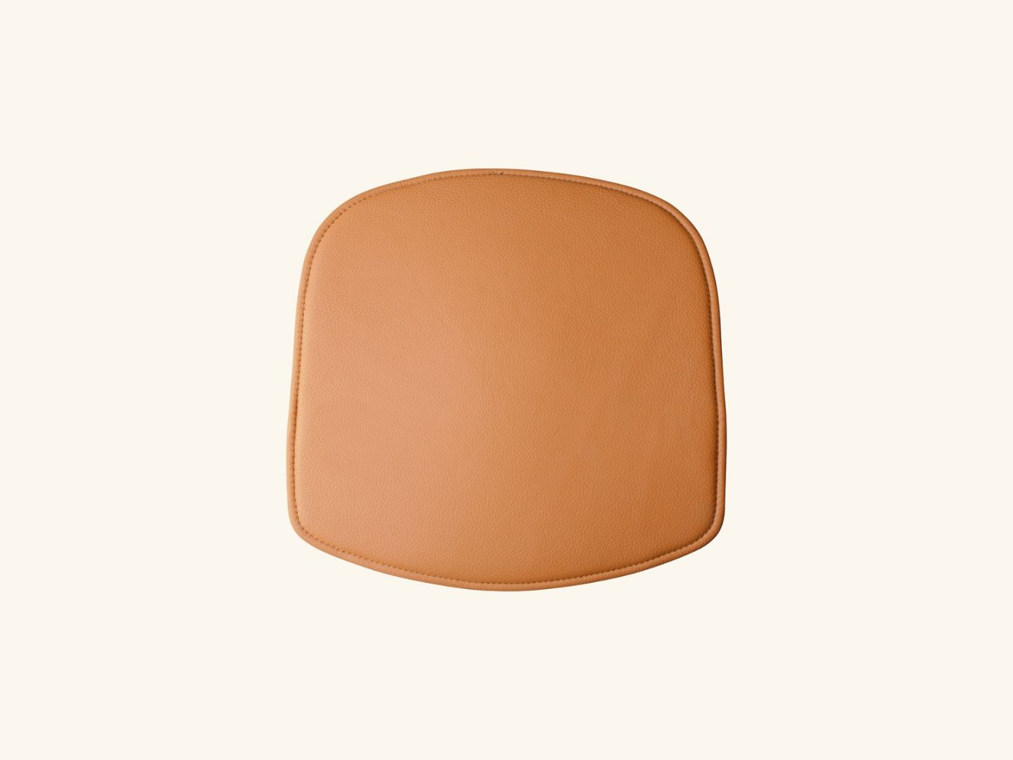 Wick seat cushion Brown leather