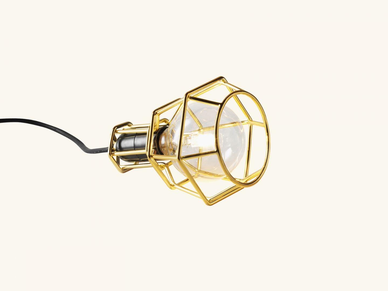 Work lamp Gold